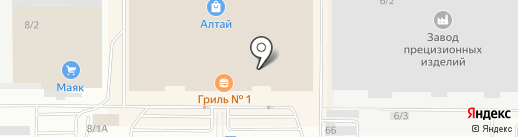 Decor magnetic на карте Барнаула