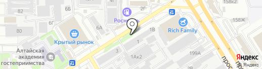Адаптивные технологии на карте Барнаула