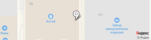 Крафт на карте Барнаула