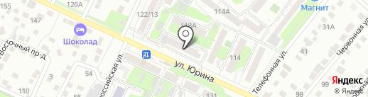 Банкомат, АКБ Авангард, ПАО на карте Барнаула
