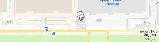 Смарт-сервис на карте Барнаула
