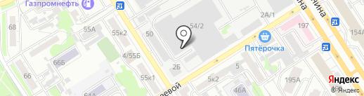 Лендавтосервис на карте Барнаула