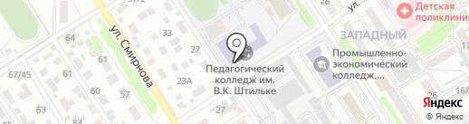 Золотой ключик на карте Барнаула