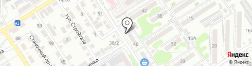 Банкомат, Газпромбанк на карте Барнаула