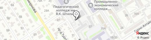 АртСтоун на карте Барнаула