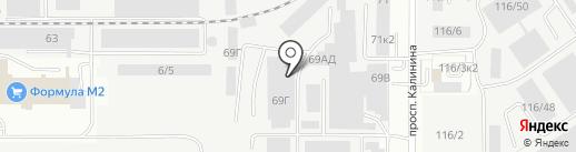 АСТ-Авто на карте Барнаула