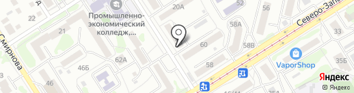 ОптикСити на карте Барнаула