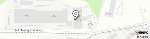 АртСтекло на карте Барнаула