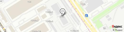 Азбука Тентов на карте Барнаула