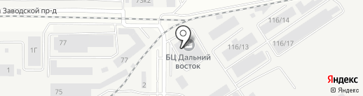 АлтайРегионСнаб на карте Барнаула