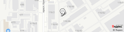 Авента-Опт на карте Барнаула