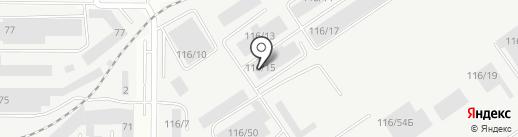 Полимер Сибирь на карте Барнаула