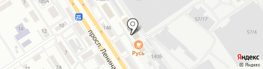 ЭКОФОРТ на карте Барнаула