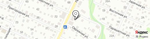 АвтоШтрих на карте Барнаула