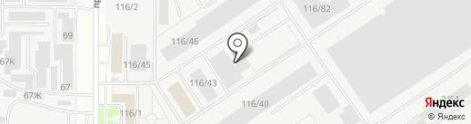 Компания по производству сетки-рабицы на карте Барнаула