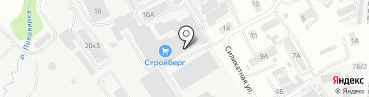 Алтстекло на карте Барнаула