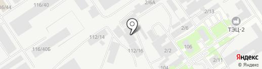 Старк на карте Барнаула
