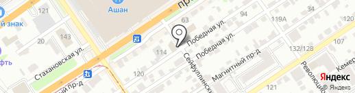 Атмосфера на карте Барнаула