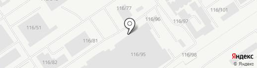 Роскомплект на карте Барнаула
