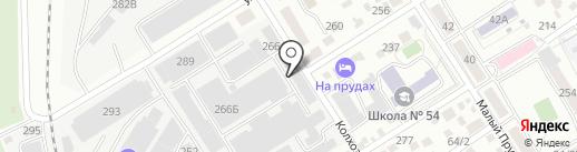 Амис на карте Барнаула