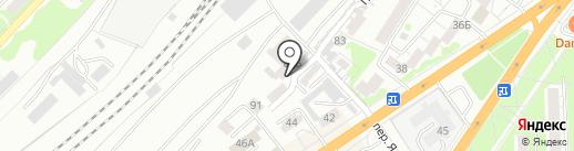 ФинСиб, ЗАО на карте Барнаула