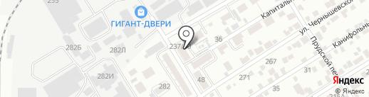 АТЛАНТИС на карте Барнаула