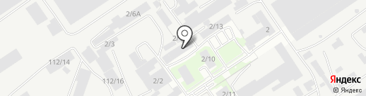 СК-Высота на карте Барнаула