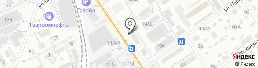 ЗАМОК-ПЛЮС на карте Барнаула