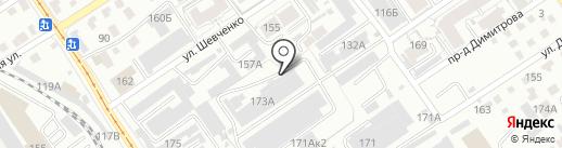 ПК ЭНЕРГО на карте Барнаула