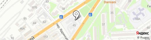 Региональный центр закупок на карте Барнаула