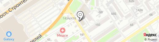 Ассоциация Независимых Экспертов на карте Барнаула