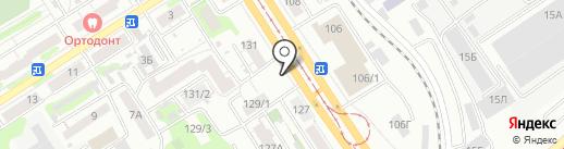 Сибинтек-Реклама на карте Барнаула