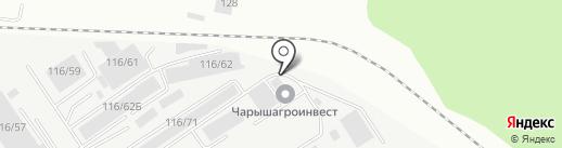 Авто Парк Плюс на карте Барнаула