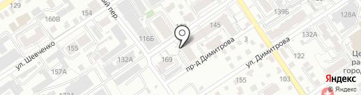 Русская здравница на карте Барнаула