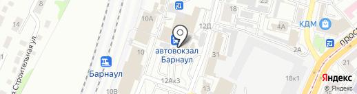 ЮрЦЕНТР на карте Барнаула