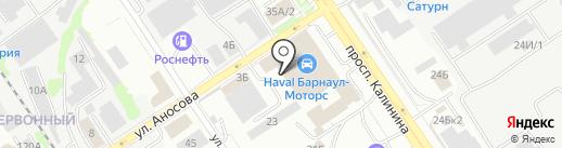 Азбука садовода на карте Барнаула
