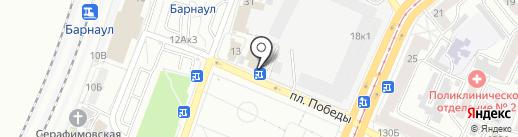 Спецназ 22 на карте Барнаула