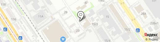 Новокузнецкое независимое телевидение, ПАО на карте Барнаула