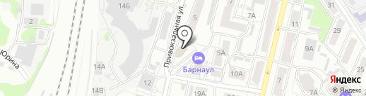 Экспресс доставка, РОО ТПК на карте Барнаула