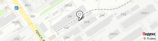МоторГРУПП на карте Барнаула