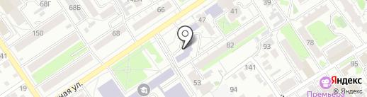 Оратор+ на карте Барнаула