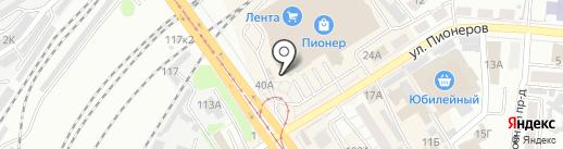 BELLICHI на карте Барнаула