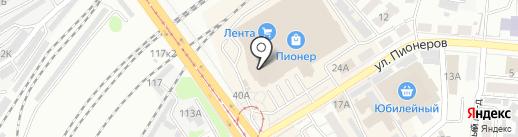 Altaibilet.ru на карте Барнаула