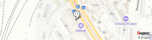 Зазеркалье на карте Барнаула