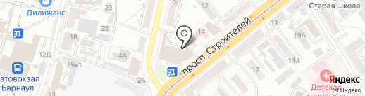 Алтайский сервисный центр парикмахерского и маникюрного инструмента на карте Барнаула