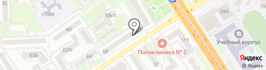 Бухгалтер на карте Барнаула