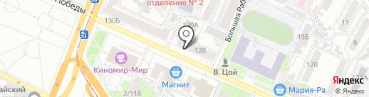 Садовод-любитель на карте Барнаула
