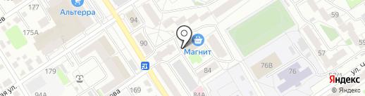 Центр финансово-правовых услуг на карте Барнаула
