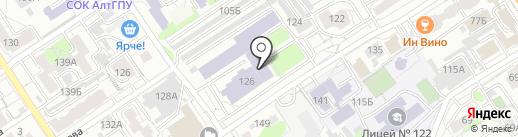 Банкомат, Банк ВТБ 24, ПАО на карте Барнаула