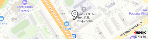 Гранд-концерт на карте Барнаула